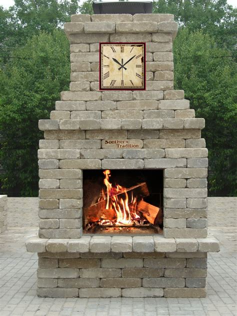 masonry outdoor fireplace southern tradition outdoor fireplace