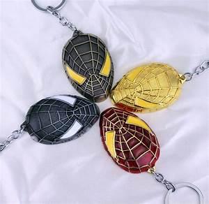 Aliexpress.com : Buy Movie Jewelry Spiderman Keychain The ...