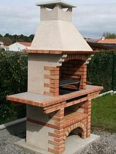 Barbecue En Dur : barbecue en brique refractaire voir prix my barbecue ~ Melissatoandfro.com Idées de Décoration