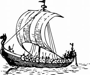 Viking Ship Clip Art At Clker Com