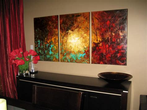 Landscape Abstract Paintings