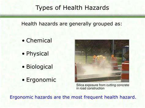 health hazards  construction module  overview