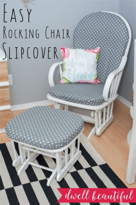 rocking chair slipcover how to sew a rocking chair slipcover beautiful chair