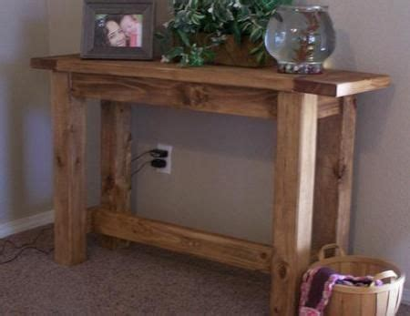 rustik 2x4 dimensions diy furniture plan from white this rustic solid wood console table is built from