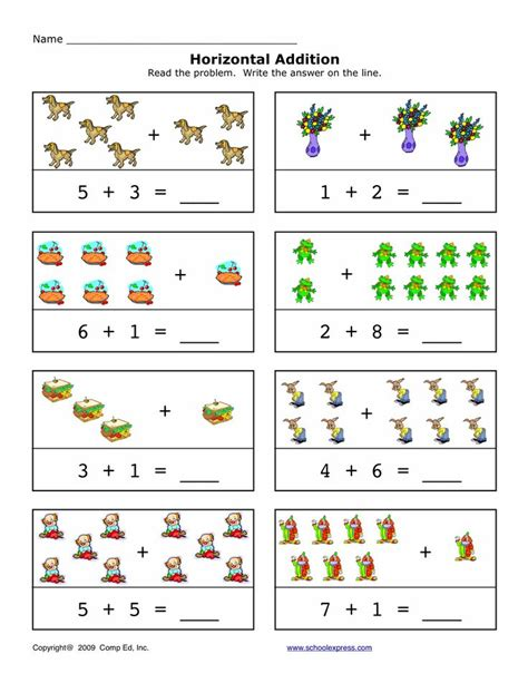 Create Your Own Math Worksheets 12 Best Horizontal Addition Images On Pinterest  American Math