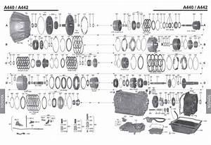 Transmission Repair Manuals A440    A442