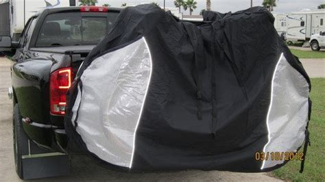 Dual Bike Cover For Transport On Rack , For 2 Bikes On