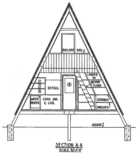 a frame cabin floor plans free a frame cabin plan with 3 bedrooms