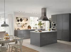 Deco Cuisine Ikea : cuisine bodbyn ~ Teatrodelosmanantiales.com Idées de Décoration