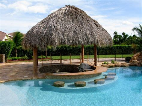 tropical tiki huts unique pool bar ideas enjoy your summer days and nights