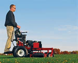Stand Behind Lawn Mowers On