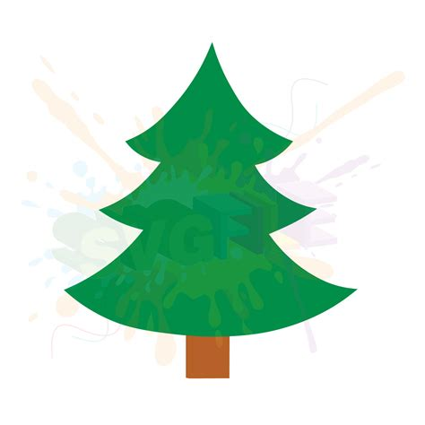From wikimedia commons, the free media repository. Christmas Tree SVG Files for Cutting Cricut Designs SVG