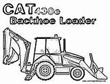 Truck Construction Coloring Clip Backhoe Trucks Loader Cliparts Peterbilt Colouring Hoe Heavy Printable Drawings Backhoes Caterpillar Template sketch template