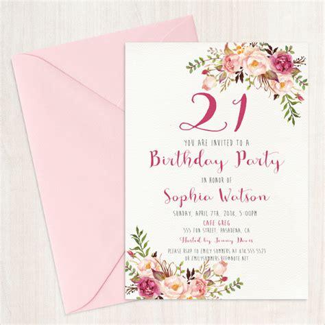 examples  birthday invitation designs psd ai
