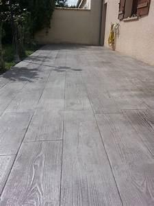 Les 25 meilleures id es de la cat gorie terrasse beton sur for Beton terrasse