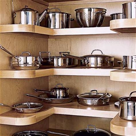 kitchen storage cabinets for pots and pans 15 creative ideas to organize pots and pans storage on
