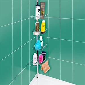 Tension shower caddy australia tension shower rod for Floor to ceiling shower caddy