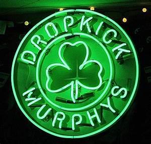 Dropkick Murphys Neon Sign Photograph by Melinda Saminski