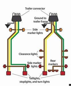 5 Wire 4 Pin Trailer Wiring Diagram See Our