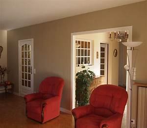 best salle a manger beige et gris photos amazing house With peinture salle à manger