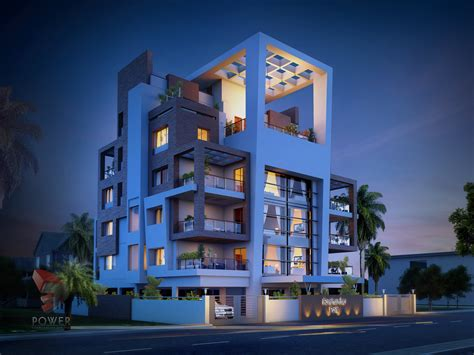 architectural apartment rendering  apartment design