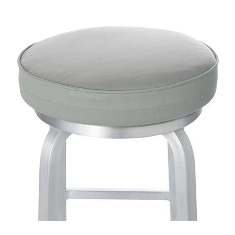 spin alloy bar stool cushion reviews crate  barrel