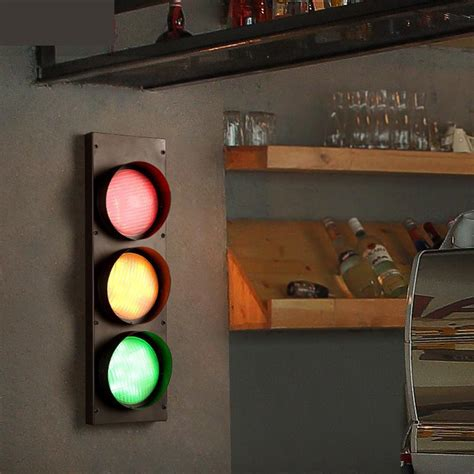 home 3 color stage light loft retro cafe iron wall l wall mounted bar restaurant