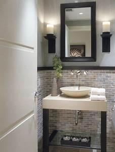 25 Modern Powder Room Design Ideas | Powder room design ...