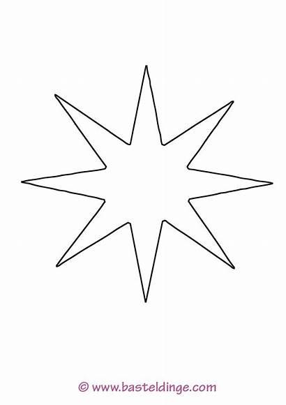 Stern Sterne Ausmalbilder Zacken Malvorlage Ausmalen Vorlagen