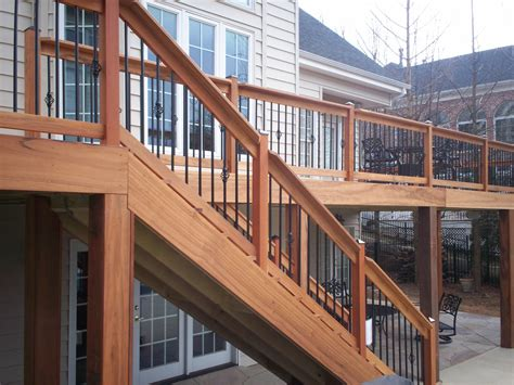 St Louis  Decks With Railing  St Louis Decks, Screened