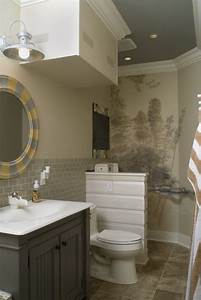 Wall painting ideas bathroom : Bathroom designs great tiny ideas for our