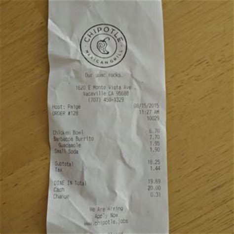 Chipotle Vacaville by Chipotle Mexican Grill 127 Photos 189 Reviews