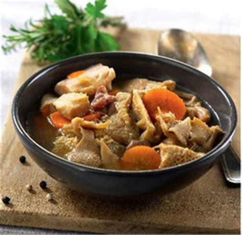 carottes cuisin馥s tripes mode de caen domigel spécialiste des produits surgelés à domicile