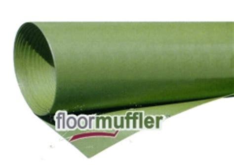 floormuffler acoustical underlayment pad moisture barrier