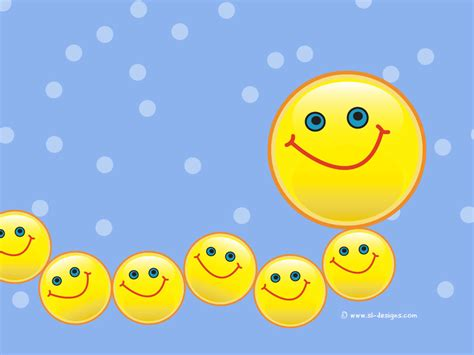 Smile Wallpapers Animation - caterpillar smiley desktop wallpaper
