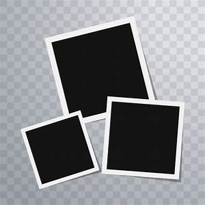 Polaroid photo frames template Vector | Free Download