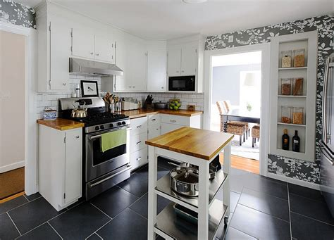 adding a kitchen island space saving movable kitchen island to get efficient