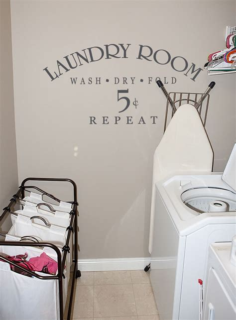 Laundry Room 5 Cents  Wall Decals  Trading Phrases