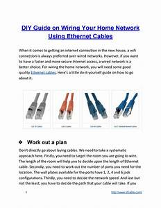 Diy Guide On Wiring Your Home Network Using Ethernet
