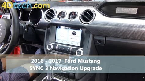 ford sync 3 navigation add factory navigation to sync 3 2016 ford mustang