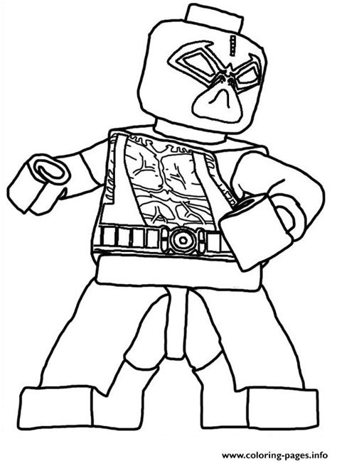 Lego Marvel Coloring Pages by Lego Deadpool Marvel Color Coloring Pages Printable