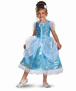 Cinderella Sparkle Kids Disney Princess Costume - Girls ...