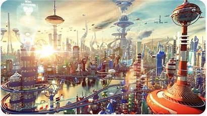 Future Futurama 3d Concept Cartoons Artist Animation
