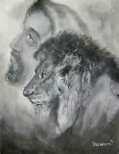 The Lion of Judah of Tribe Jesus as The