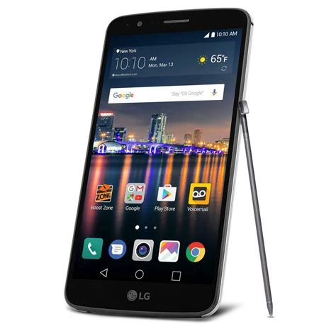 lte in mobile lg stylo 3 16gb lte 5 7 quot android smartphone boost mobile