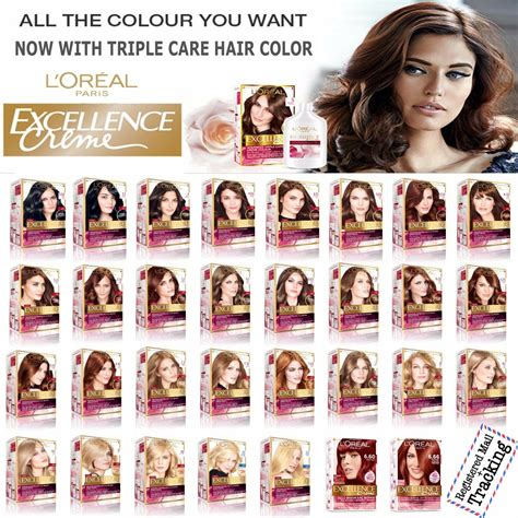 loreal colors l oreal excellence creme care hair color