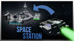 TRAVELLING TO A SPACE STATION IN MINECRAFT! - YouTube