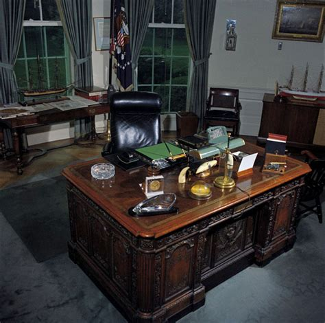 desk in oval office oval office history white house museum