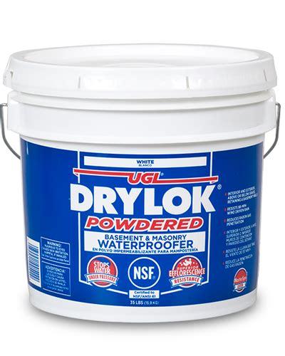 ugl drylok masonry products