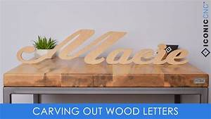 cutting out letters on a cnc machine youtube With machine that cuts out wood letters